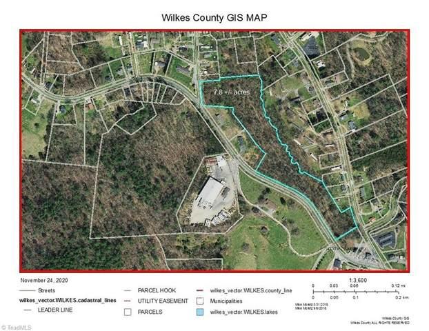 0 Boone Trail, North Wilkesboro, NC 28659 (MLS #004672) :: Ward & Ward Properties, LLC