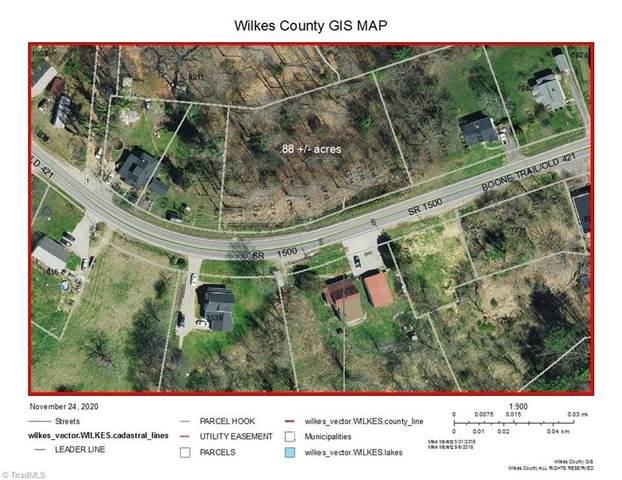 0 Boone Trail, North Wilkesboro, NC 28659 (MLS #004681) :: Ward & Ward Properties, LLC