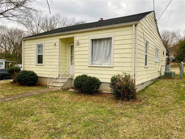 543 W Sprague Street, Winston Salem, NC 27127 (MLS #1007712) :: Berkshire Hathaway HomeServices Carolinas Realty