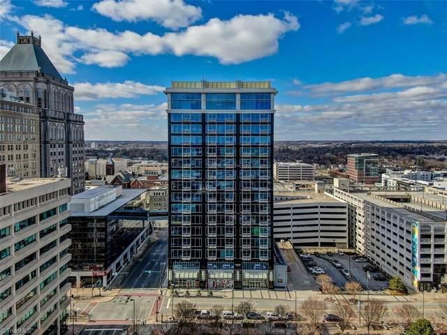 201 Elm Street #408, Greensboro, NC 27401 (MLS #1007803) :: Ward & Ward Properties, LLC