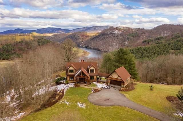 42 New River Drive, Sparta, NC 28675 (MLS #1010611) :: Ward & Ward Properties, LLC