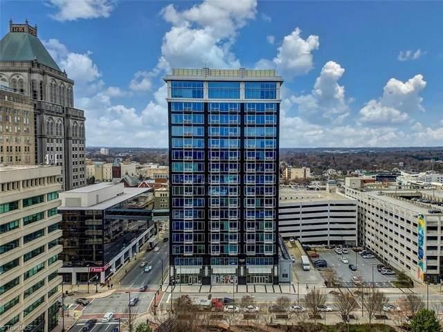 201 N Elm Street #509, Greensboro, NC 27401 (MLS #1012701) :: Ward & Ward Properties, LLC
