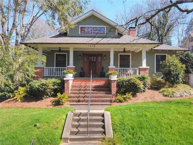 1215 Brookstown Avenue, Winston Salem, NC 27101 (MLS #1017413) :: Lewis & Clark, Realtors®