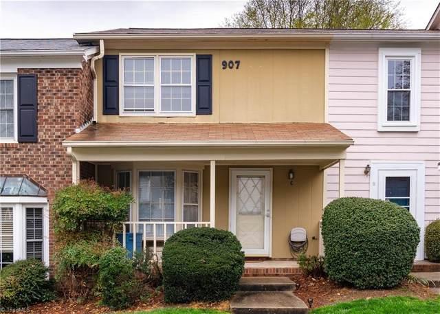907 Shelby Drive C, Greensboro, NC 27409 (MLS #1018378) :: Lewis & Clark, Realtors®