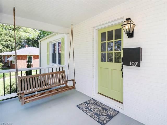 107 Berkshire Street, Greensboro, NC 27403 (MLS #1020293) :: Ward & Ward Properties, LLC