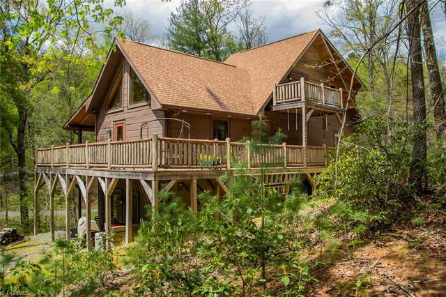1625 Staghorn Road, Purlear, NC 28665 (MLS #1020626) :: Ward & Ward Properties, LLC