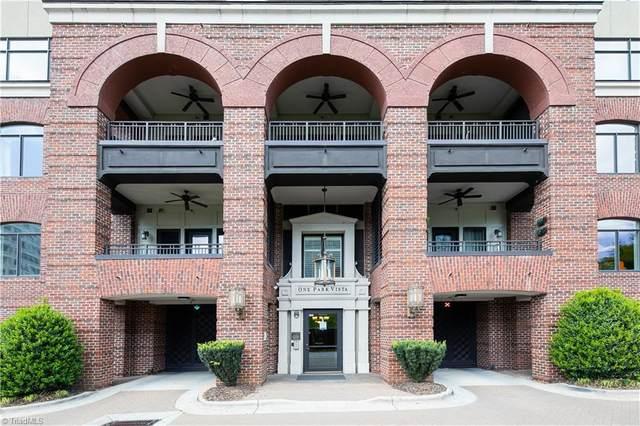 1 Park Vista Lane #130, Winston Salem, NC 27101 (MLS #1021093) :: Lewis & Clark, Realtors®