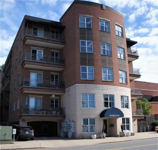 851 W 4Th Street #4, Winston Salem, NC 27101 (MLS #1022288) :: Team Nicholson