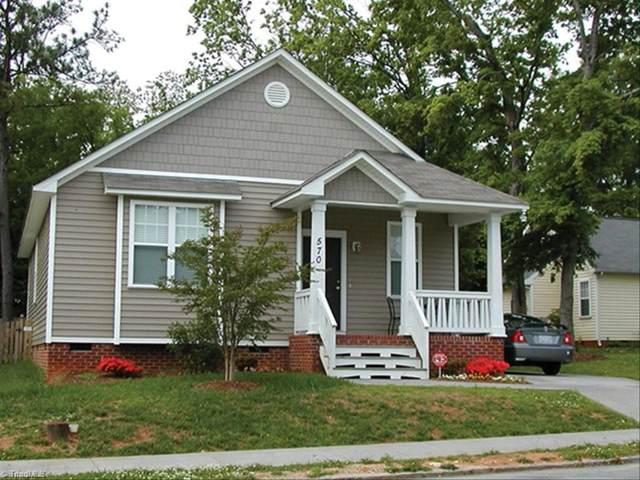 306 Shaw Street, Greensboro, NC 27401 (MLS #1023431) :: Ward & Ward Properties, LLC