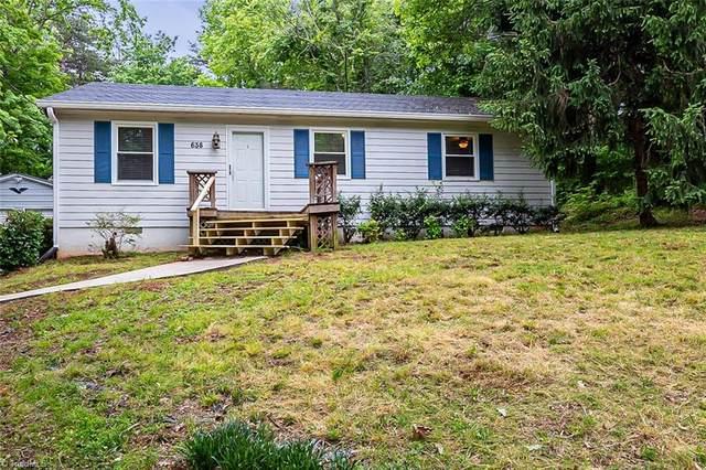 638 Hillhaven Drive, Winston Salem, NC 27107 (#1024295) :: Rachel Kendall Team