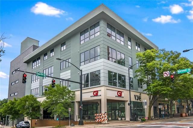 400 W 4th Street #301, Winston Salem, NC 27101 (MLS #1026427) :: Berkshire Hathaway HomeServices Carolinas Realty