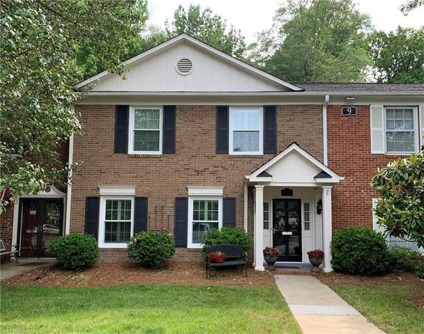 9 Fountain Manor Drive D, Greensboro, NC 27408 (MLS #1026636) :: Hillcrest Realty Group