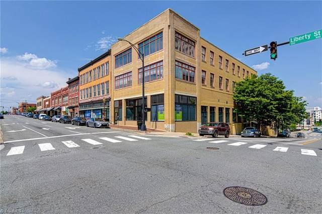 1 W 5th Street #203, Winston Salem, NC 27101 (MLS #1026975) :: EXIT Realty Preferred