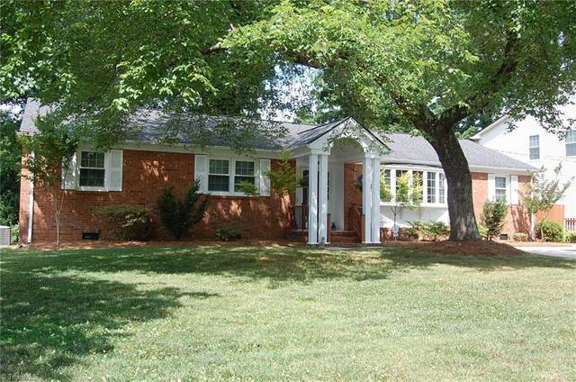 823 Montpelier Drive, Greensboro, NC 27410 (MLS #1027491) :: Hillcrest Realty Group