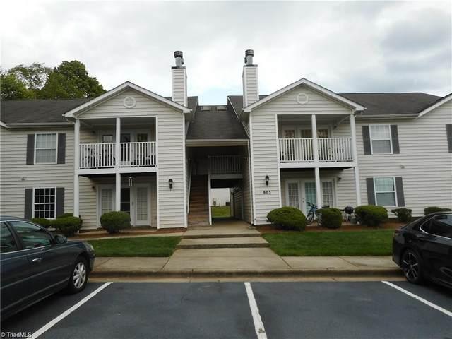 803 Moultrie Court F, Greensboro, NC 27409 (MLS #1027596) :: Hillcrest Realty Group