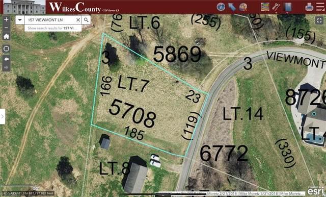 TBD Viewmont Lane, Ronda, NC 28670 (MLS #1027645) :: Ward & Ward Properties, LLC