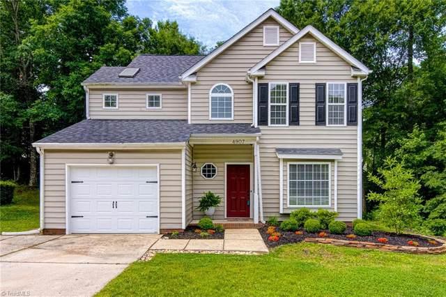 4907 Heritage Woods Drive, Greensboro, NC 27407 (MLS #1027743) :: Berkshire Hathaway HomeServices Carolinas Realty