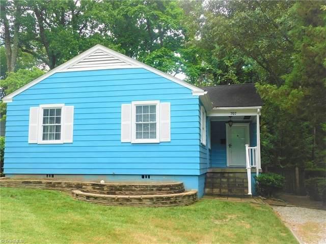 707 Wicker Street, Greensboro, NC 27403 (MLS #1027884) :: Berkshire Hathaway HomeServices Carolinas Realty