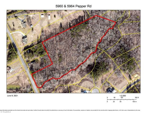 5964 & 5960 Pepper Road, Oak Ridge, NC 27310 (MLS #1028279) :: Berkshire Hathaway HomeServices Carolinas Realty