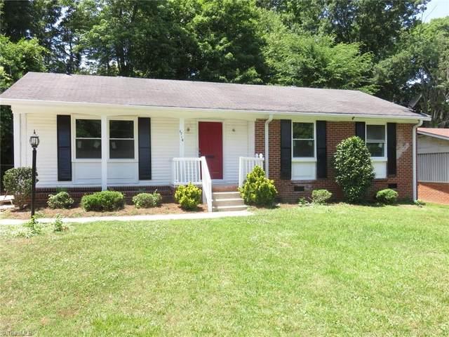 1714 Hannaford Road, Greensboro, NC 27401 (MLS #1028460) :: Ward & Ward Properties, LLC