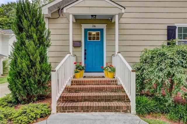 26 Vintage Avenue, Winston Salem, NC 27127 (MLS #1028678) :: EXIT Realty Preferred