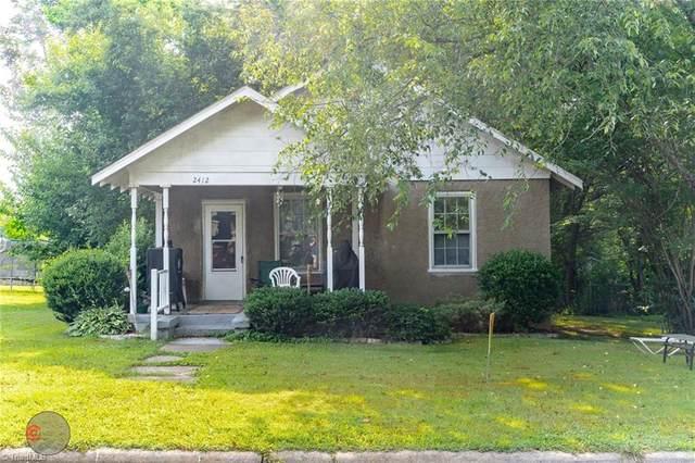 2412 Spruce Street, Greensboro, NC 27405 (MLS #1028979) :: Ward & Ward Properties, LLC