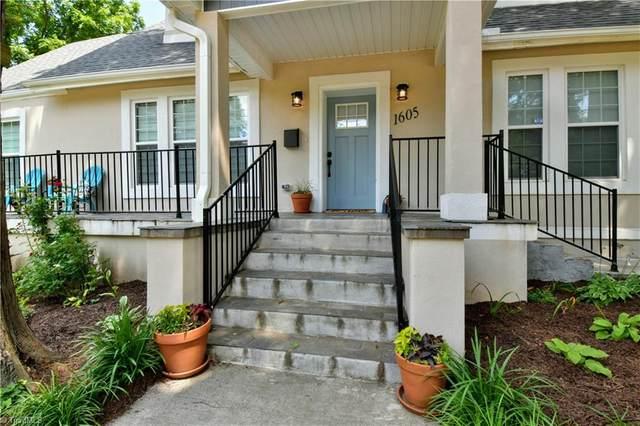 1605 Doune Street, Winston Salem, NC 27127 (MLS #1028992) :: Greta Frye & Associates   KW Realty Elite