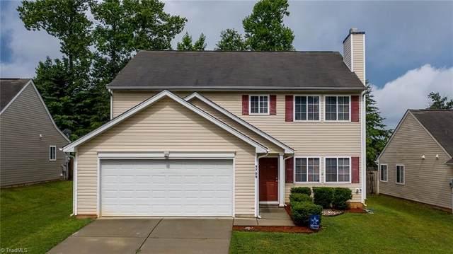 5709 Hidden Lake Drive, Browns Summit, NC 27214 (MLS #1030162) :: Ward & Ward Properties, LLC