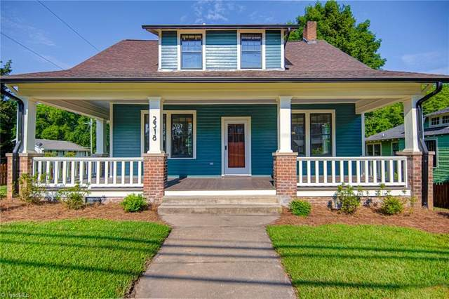 2318 S Main Street, Winston Salem, NC 27127 (MLS #1030466) :: Hillcrest Realty Group