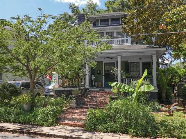 208 Leftwich Street, Greensboro, NC 27401 (MLS #1031645) :: Ward & Ward Properties, LLC