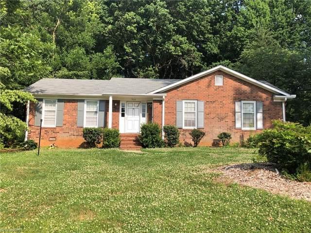908 King George Drive, Greensboro, NC 27410 (MLS #1032608) :: Ward & Ward Properties, LLC