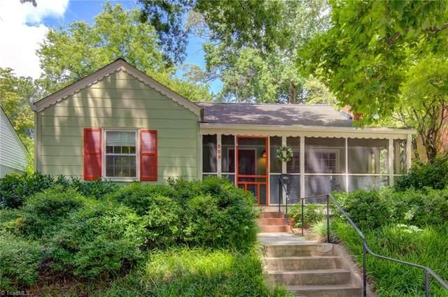 309 Mimosa Drive, Greensboro, NC 27403 (MLS #1032695) :: Ward & Ward Properties, LLC