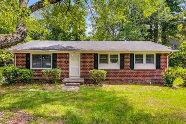 523 Mobile Street, Greensboro, NC 27406 (MLS #1033551) :: Ward & Ward Properties, LLC
