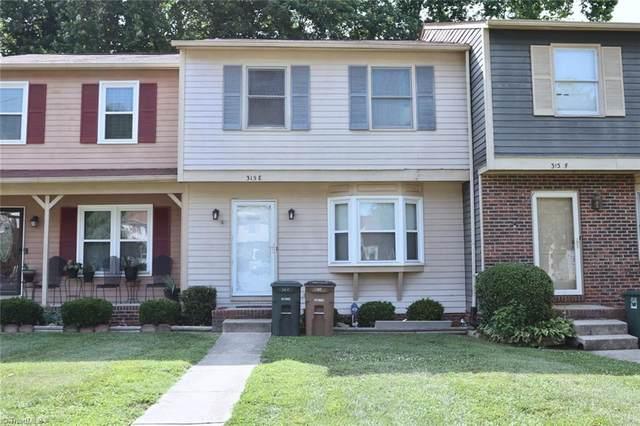 315 E Montcastle Drive E, Greensboro, NC 27406 (MLS #1034150) :: EXIT Realty Preferred