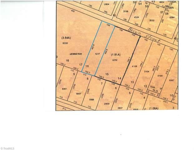 1041 Brown Street, Lexington, NC 27292 (MLS #1034228) :: Ward & Ward Properties, LLC