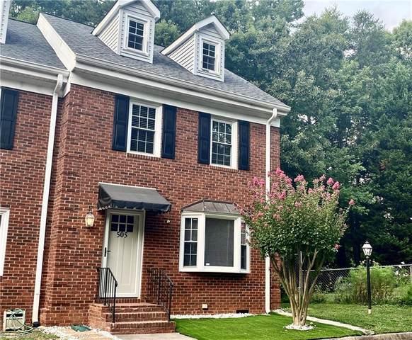 505 New Berry Court, Winston Salem, NC 27103 (MLS #1034637) :: Ward & Ward Properties, LLC