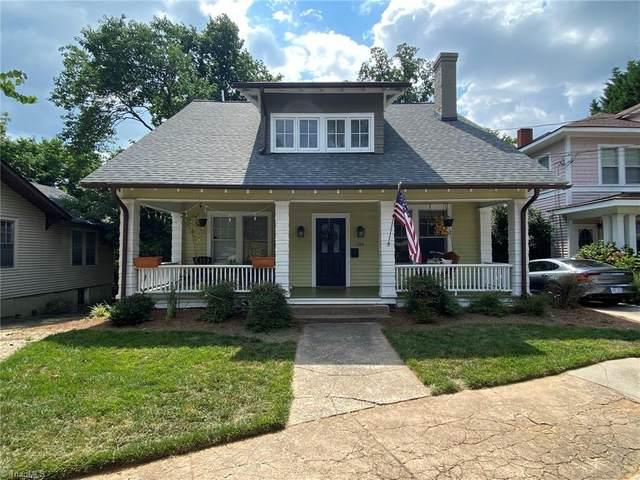 116 N Sunset Drive, Winston Salem, NC 27101 (MLS #1037278) :: Ward & Ward Properties, LLC