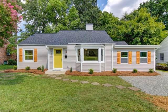 704 N Josephine Boyd Street, Greensboro, NC 27408 (MLS #1038394) :: Ward & Ward Properties, LLC