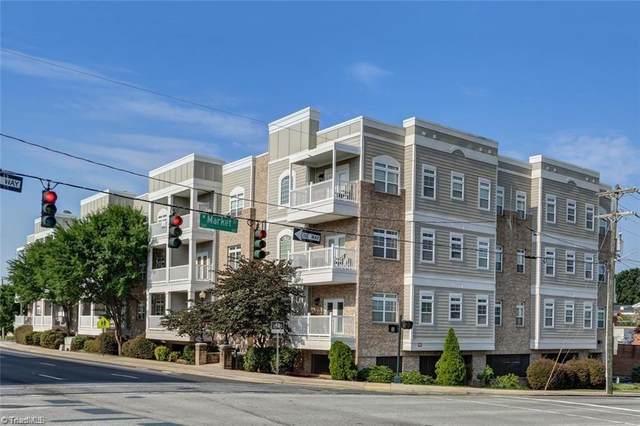 605 W Market Street #309, Greensboro, NC 27401 (MLS #1039559) :: Ward & Ward Properties, LLC