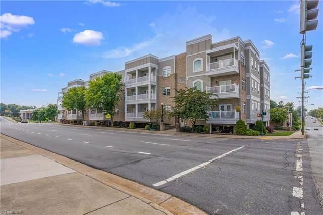 605 Market Street #208, Greensboro, NC 27406 (MLS #1039808) :: Ward & Ward Properties, LLC