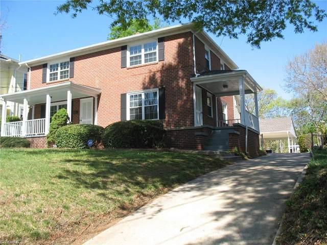 1525 Northwest Boulevard, Winston Salem, NC 27104 (MLS #1041988) :: Ward & Ward Properties, LLC