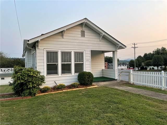 411 D Street, North Wilkesboro, NC 28659 (MLS #1042459) :: Ward & Ward Properties, LLC