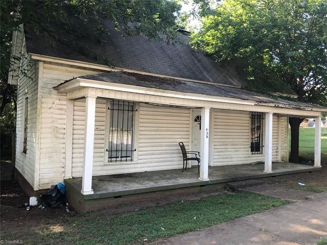 435 Shaver Street, Salisbury, NC 28144 (MLS #1042639) :: Ward & Ward Properties, LLC