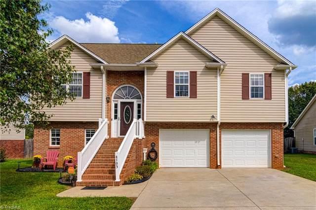 4703 Eagle Path, Winston Salem, NC 27127 (MLS #1042698) :: Ward & Ward Properties, LLC