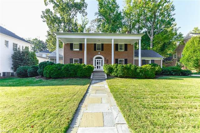 201 Country Club Drive, Greensboro, NC 27408 (#1045643) :: Rachel Kendall Team
