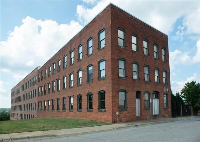 836 Oak Street #302, Winston Salem, NC 27101 (MLS #1045886) :: Witherspoon Realty
