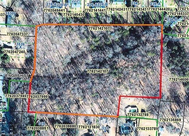 0 English Street, Asheboro, NC 27203 (MLS #1046612) :: Ward & Ward Properties, LLC