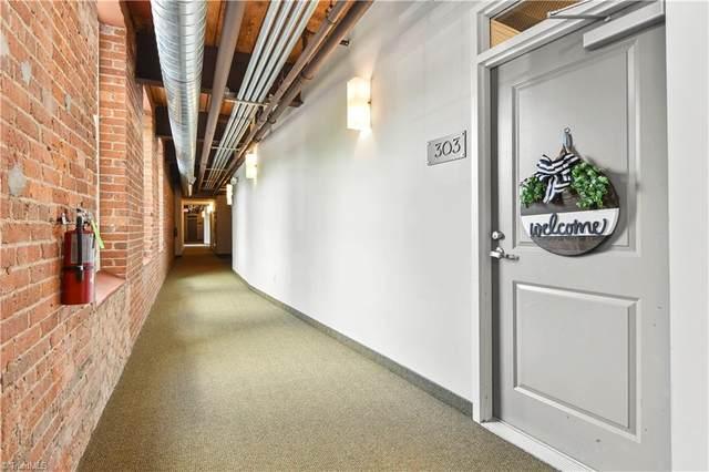 836 Oak Street #303, Winston Salem, NC 27101 (MLS #1046613) :: Ward & Ward Properties, LLC
