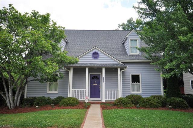 501 S Poplar Street, Winston Salem, NC 27101 (MLS #834161) :: The Umlauf Group