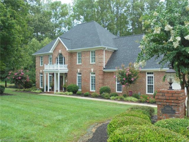 5908 Tarleton Drive, Oak Ridge, NC 27310 (MLS #845496) :: Kristi Idol with RE/MAX Preferred Properties